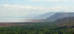 Lake Manyara and the Rift Escarpment