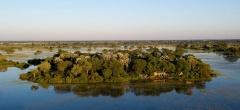 Jacana Camp - Aerial View
