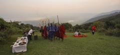 Sundowners with the Masaai