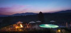Sunset over Neptune Ngorongoro Luxury Lodge