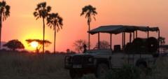 Kwihala Camp - sunset