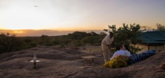 Kusini Camp - sundowners