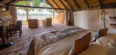 Nkwali Camp - Bedroom