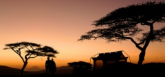 Oliver's Tented Camp sunset