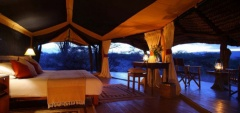 Lewa Safari Camp - bedroom