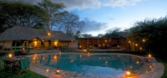 Lewa Safari Camp - pool
