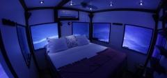 Manta Resort - underwater room