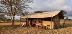 Legendary Serengeti Mobile Camp - Main area