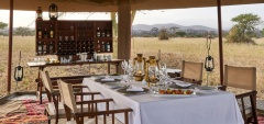 Legendary Serengeti Mobile Camp - Dining area