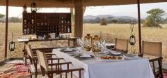 Legendary Serengeti Mobile Camp - Dining area
