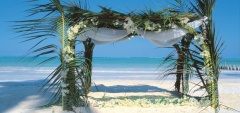Breezes Beach Club - wedding