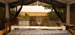 Katavi wildlife camp - bedroom