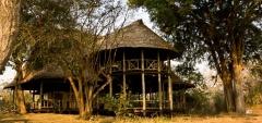 Katavi wildlife camp - main area