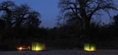 Sand River Camp - Night