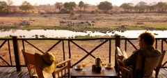 Ruaha River Lodge - View