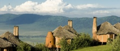 Ngorongoro Crater Lodge - View