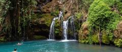 Lewa downs - small waterfall