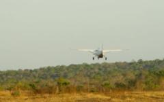 Flight out of Katavi